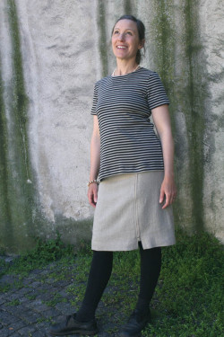 Skirt wrap-around Zipper