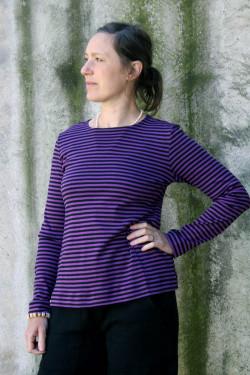 Sweater basic Stripe