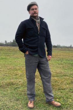 copy of Male trousers linen