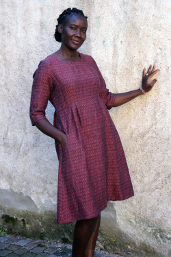 "Linen dress ""Arrows"""