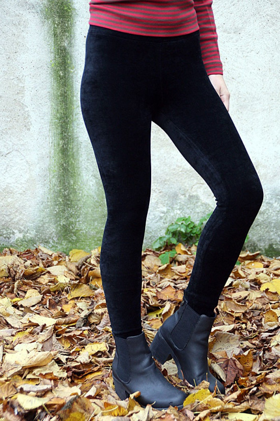 Tights velour