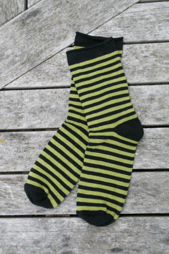 Sockor med rullkant